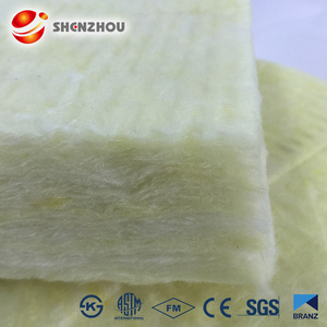 Thermal conductivity fireproofing material roofing lana blanket glass wool 50mm thickness