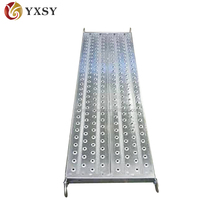 Galvanized Perforated Steel Plank for Types of Scaffolding