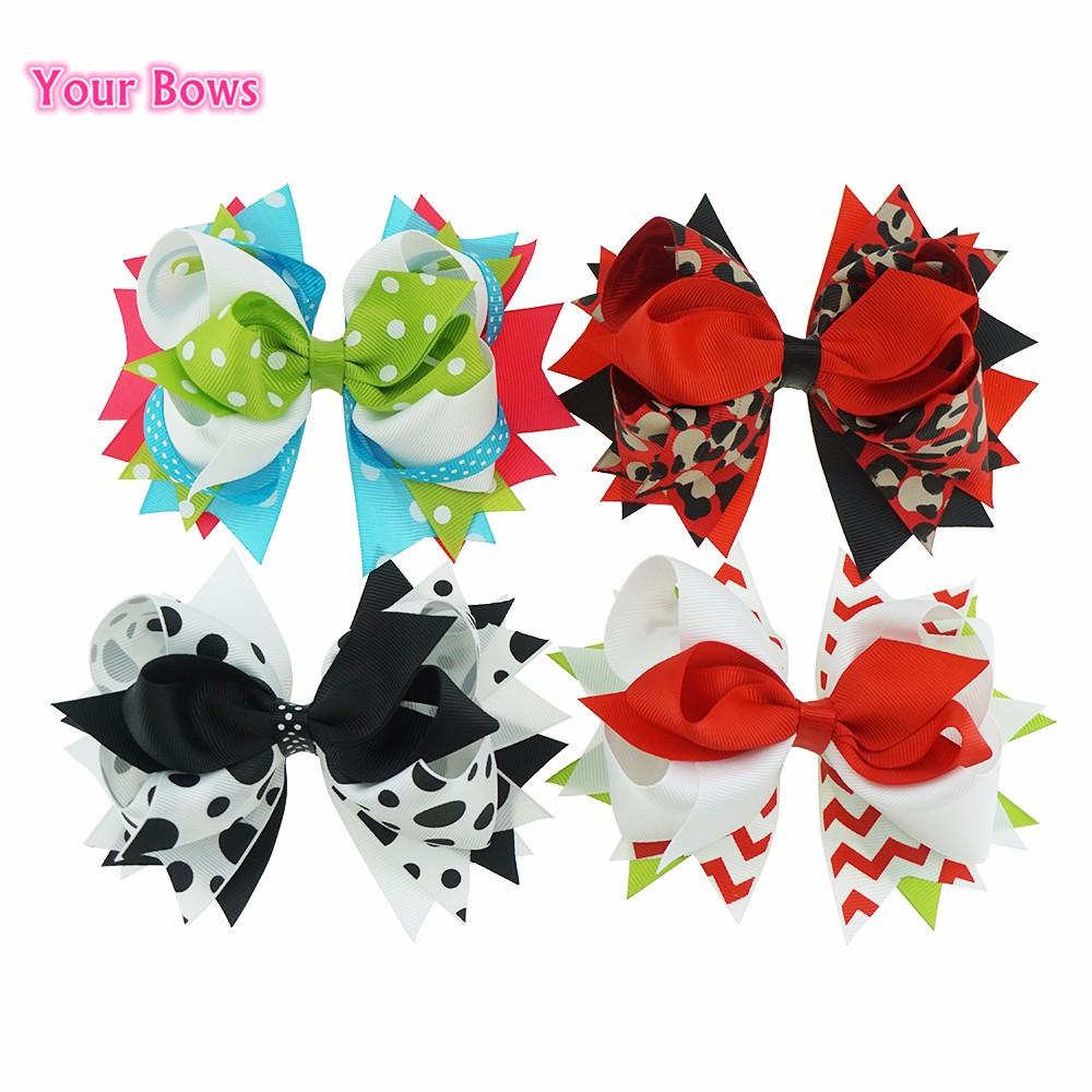 cf24792354f3 5.5 Inches Kids Hair Accessories Hair Bows Headbands Girl Headwear ...