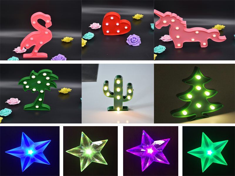 LED Sign Love Letter Marquee Light Letters Plastic Alphabet Sign &LED light up night light battery operated