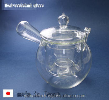 Carefully Crafted Heat Proof Glass Teapot Made In Japan Top Craft ...