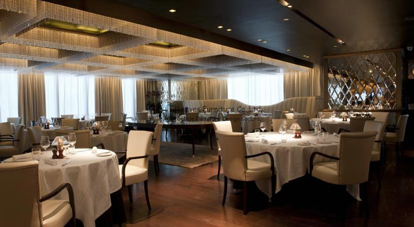krt 015 high end restaurant meubilair houten tafels