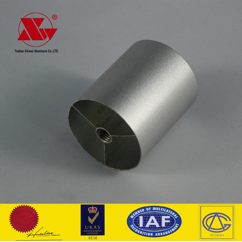 Aluminium Connecting Cladding Telescopic Poles Pipe Tube