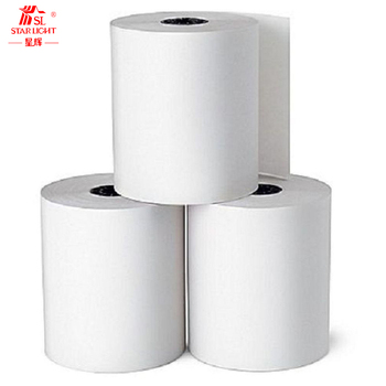 100% Pure Wood Machine Usage Thermal Paper Roll 80*80 Cash Register Paper Rolls BPA Free ATM Roll