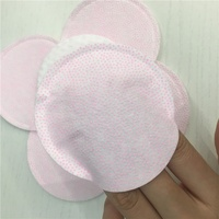 Facial care make up cotton pad 100pcs wholesale organic round shape cosmetic cotton pads manufacturers