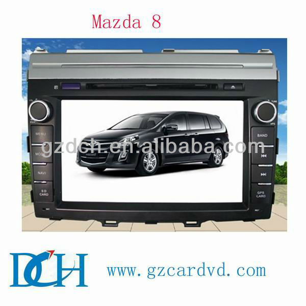 autoradio touch screen 2 din car dvd players gps for MAZDA 8 WS-9400