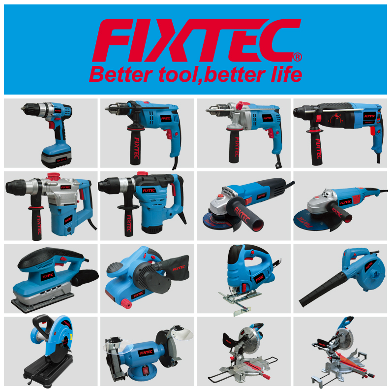 FIXTEC Power Tools 600W Woodworking Machine Electric Planer
