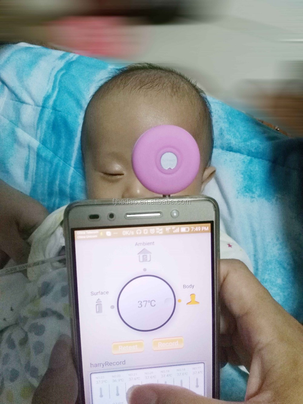Baby Smart Thermometer Ambient Body Object Temp Tracking - KingCare | KingCare.net
