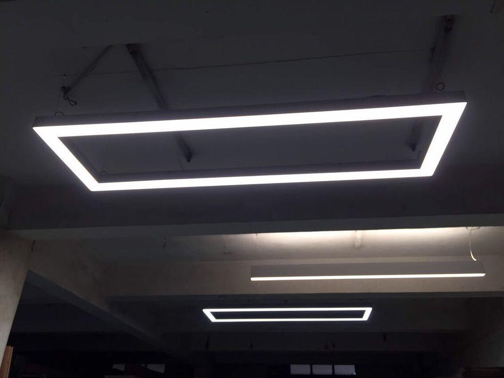 Morden design ceiling lighting fixture for t8 led tube school led morden design ceiling lighting fixture for t8 led tube school led light profile linkable lighting aloadofball Choice Image
