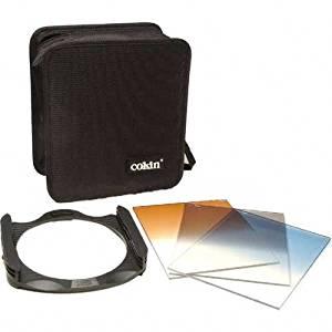 XL Series Filter Holder Fotodiox Pro 130mm Graduated Sunset Orange Filter fits Cokin X-Pro