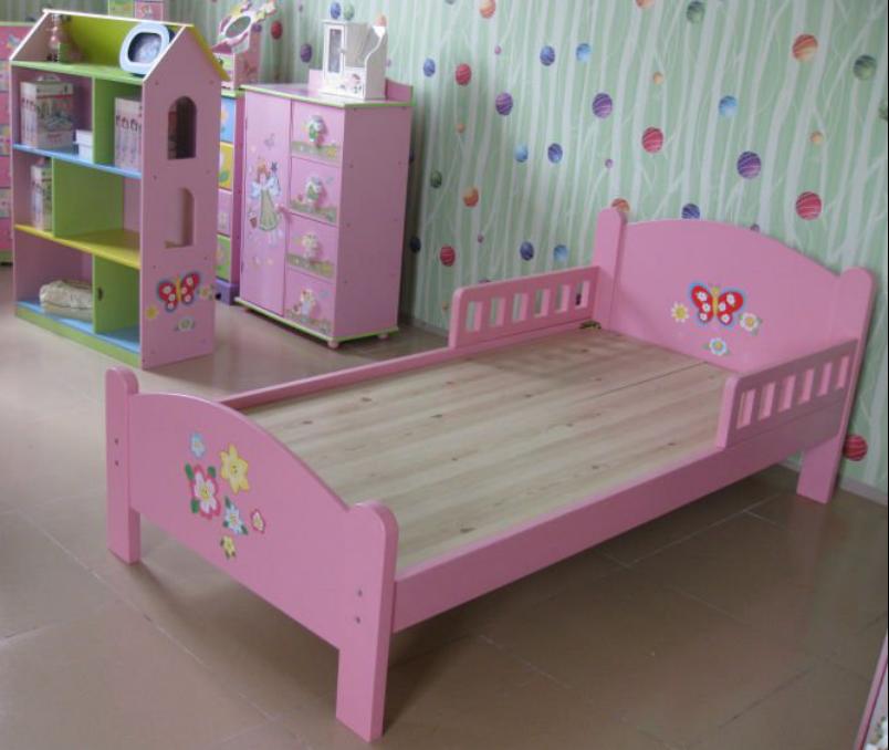 nios modernos muebles de dormitorio de madera cama para nios cuna