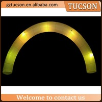 High quality cheap inflatable led light arch for sale
