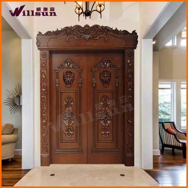 Arch design door wooden church door buy church door for Traditional wooden door design ideas