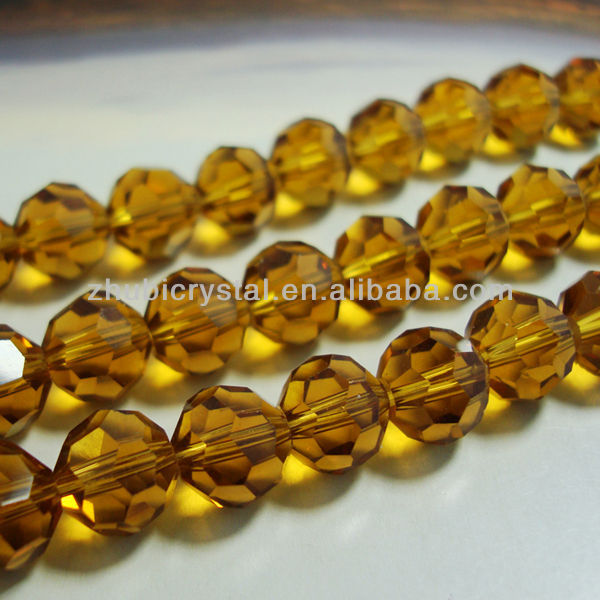 32 faceted fancy glass beads for jewelry making