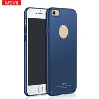 MSVII New Luxury Accessoires Bumper Hard PC Cell Phone Back Cover Casing Case For Apple For iPhone 7 Plus 7Plus 5Se 5 Se 5C 6 6S