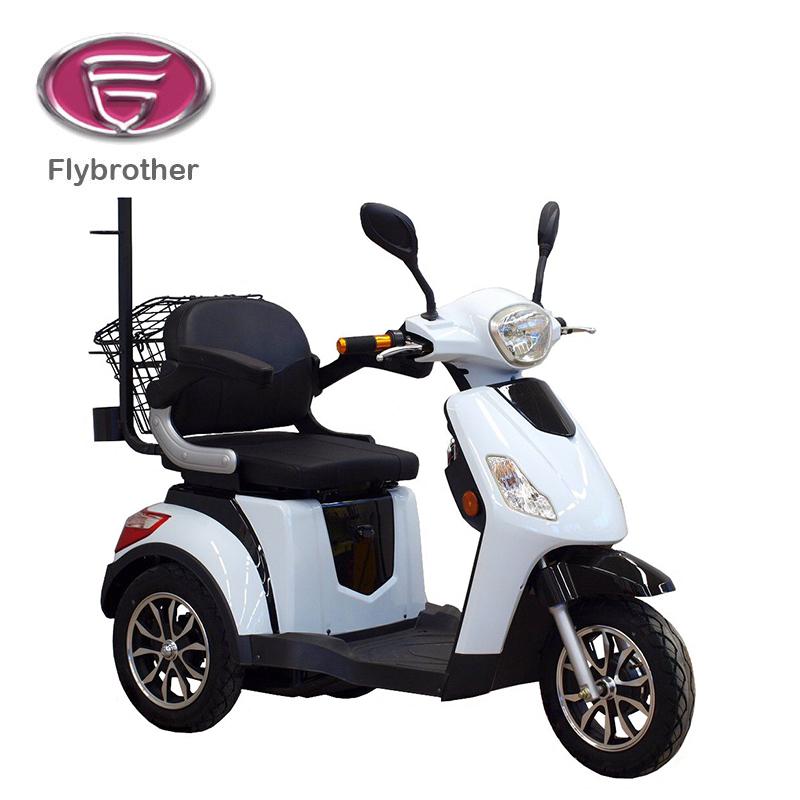 Handicap three wheel scooter for elderly