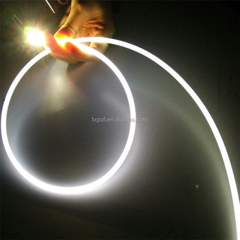6mm Side Glow Fiber Optic Cable Lighting For Ceiling Decorative Product