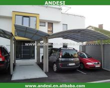 shed roof canopy car porch design