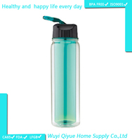 2016 best products unique products to sell sports items double wall 16oz mineral water plant