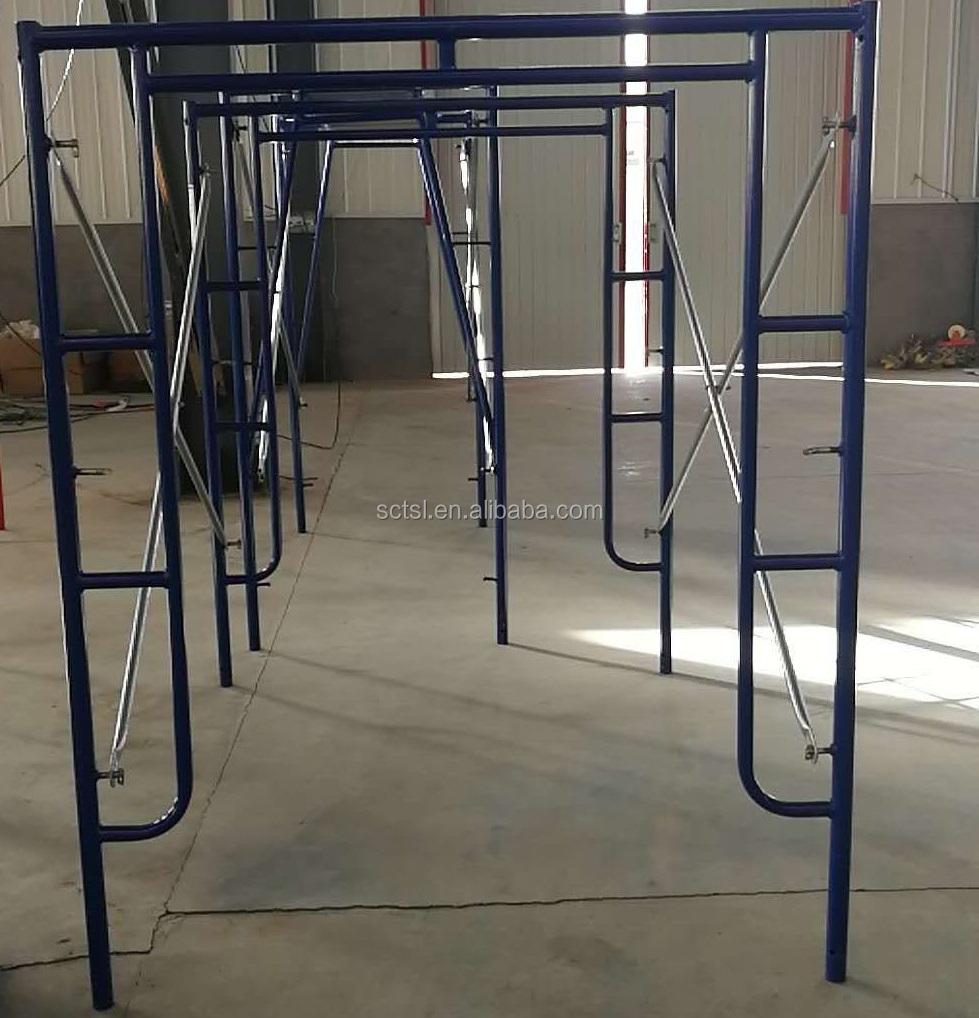 Walk through h frame scaffolding 368 in scaffolding material list