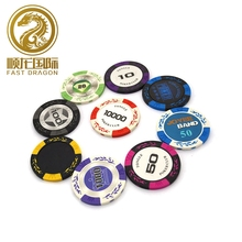 Carica Fiches Da Poker, Poker Chip di Argilla Monete <span class=keywords><strong>Texas</strong></span> <span class=keywords><strong>Hold</strong></span>'em Moneta Gamble Giochi Pokerstars