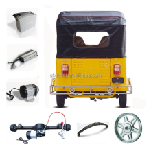 Safely indian tricycle/auto rickshaw spare parts/cng 4 stroke rickshaw