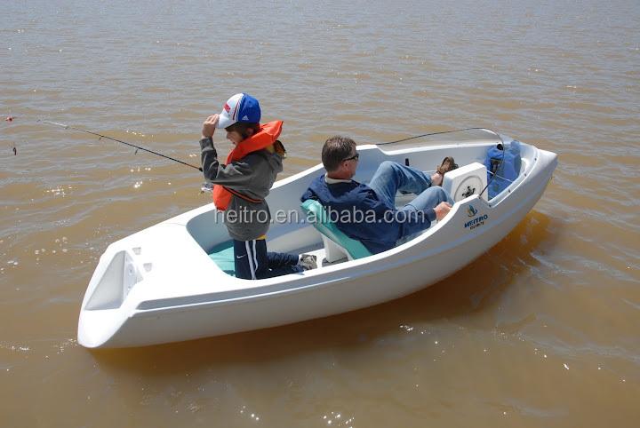 Fishing plastic boat pedal boat buy fishing plastic boat for Paddle boat fishing