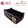 Customized pop display box for food, chicken sausages paper display box, corrugated box packaging