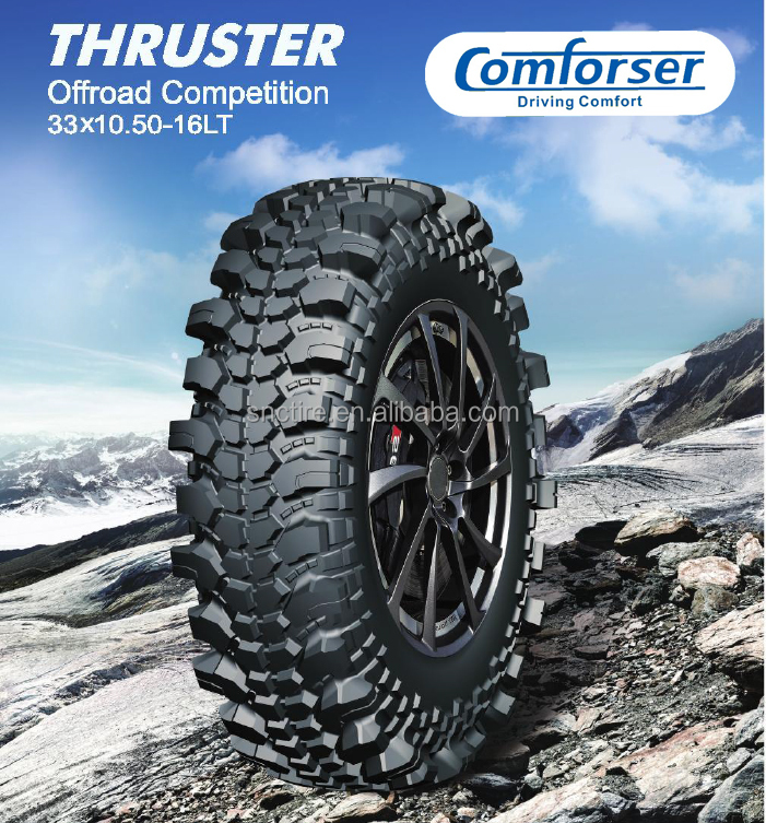 Comforser brand extreme mud tyres 33X10.50-16 31x10.50-16 35x10.50-16LT off road tires