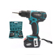 Power craft cordless drill 18v Max 80 Nm electric rechargeable drill