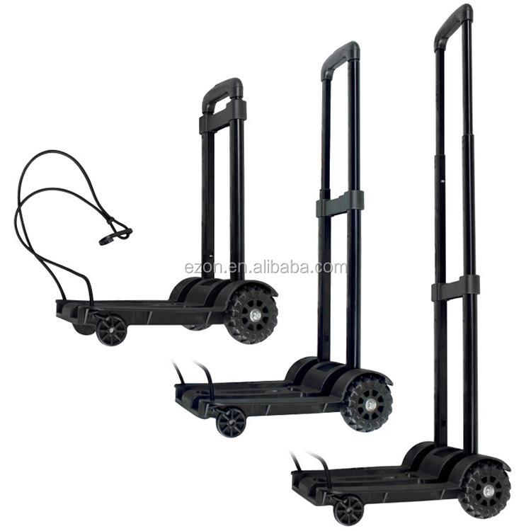Lightweight Luggage Metal Folding Cart /portable Folding Shopping ...