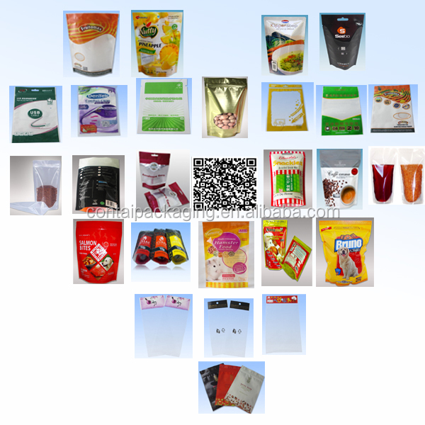 Custom food packaging pouch/biodegradable food packaging/plastic food packaging bag