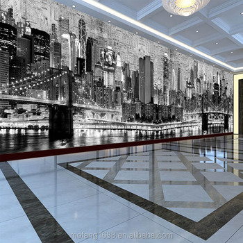pantoscopic design for exhibition hall commercial office 3d effect