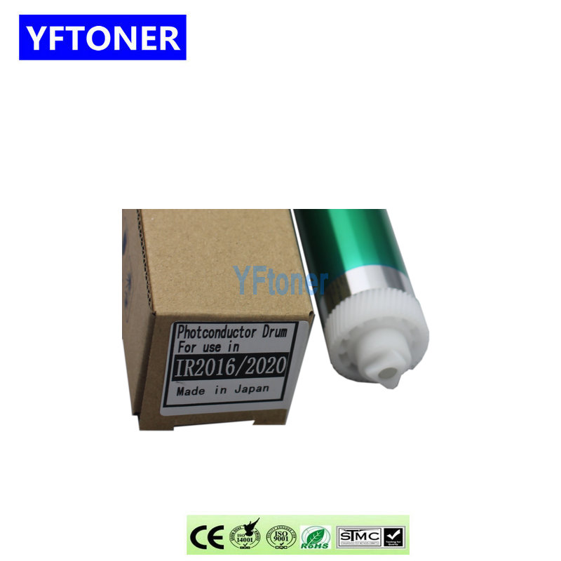 YFTONER GPR-18 C-EXV-14 NPG-28 Long Life OPC Drum Compatible for Canon IR 2016 2020 2120 2420 2320 2318 Copier Parts Green Color
