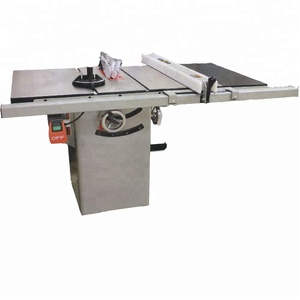 "10""Granite/Cast lron cabinet saw with riving knife 30"" rail & rail & fence system,miter saw table,used bench saw,wood cutting"
