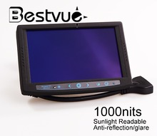 "7"" Professional Sunlight Readable LCD Monitor 7 inch touch screen high brightness lcd monitor for car pc"