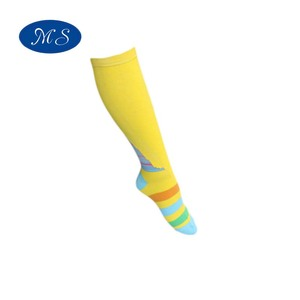 Mens Custom Sports sock Yellow Compression Sport Socks