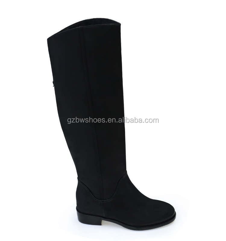 Manufacturer Top Quality fall season women leather high boots