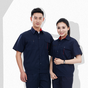 Guangzhou garment manufactoryCustom design safety overalls construction reflective work clothes factory uniforms