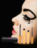 volume long curling eye lash extension 3D Fiber Mascara black thickening mascara