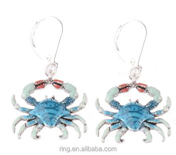 Bijoux En Nouveaux Buy D'oreilles De Crochet Boucles Mer Crabe Poisson Gros Poisson boucles Costume PZuTOikXw