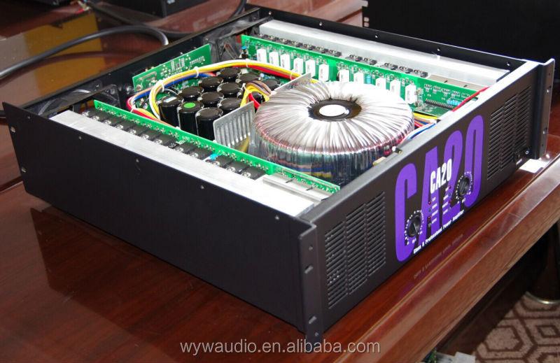 1300watt Dual Channel Power Amplifier With 48 Pcs Toshiba