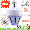 Bbier 80w high power cre e27 led bulb