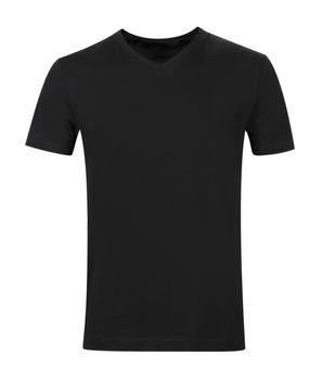 wholesale blank men s plain black 60 cotton 40 polyester soft undershirt  muscle fit shirt v- a05c227a4