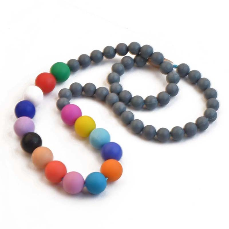 Custom original colorful tourist souvenir silicone bracelet/necklace
