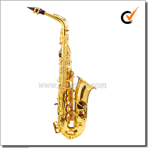 Range Low Bb to High F# Key Yellow Brass Jinbao Alto Saxophone Alto (SP260G)