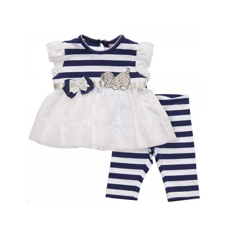 Get Quotations · 2015 New Arrival Clothes Set Children Striped Shirt+Pant  Set Baby Girl Summer Set Kids a3b5d0e9d
