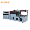 aquatic products shop POF film shrink wrapping machine