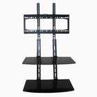 Oem lg lcd spare metal parts standing or wall mounting tv rack