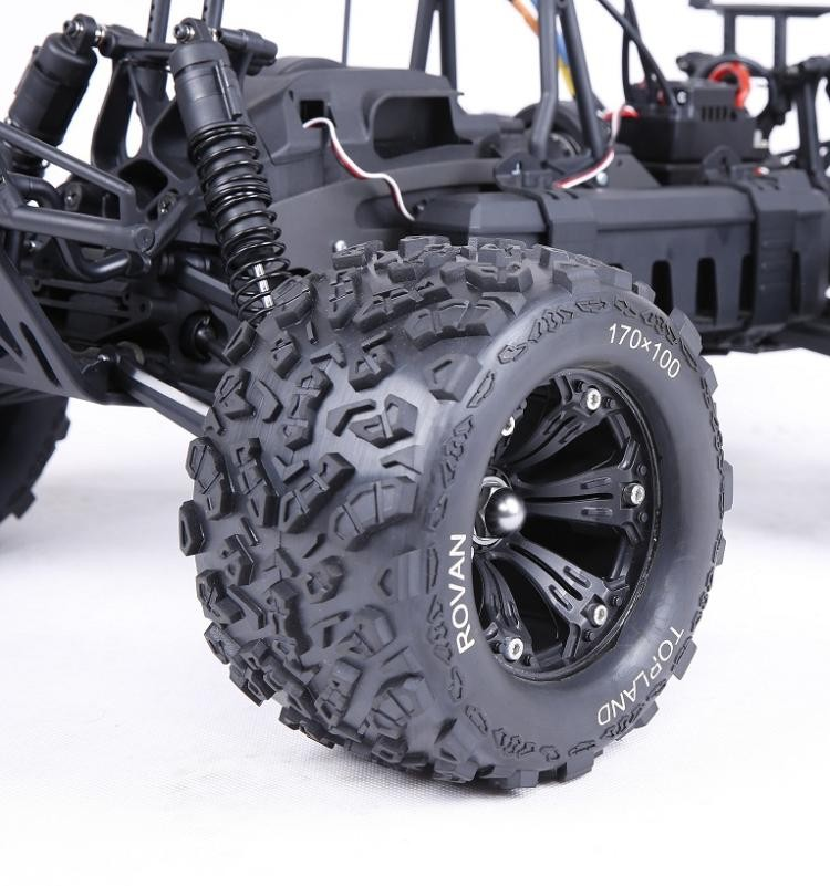 Diameter 165mm Width 100mm Hex Size: 17mm Wheels For 1/8 Rc Monster Truck -  Buy Diameter 165mm Width 100mm Hex Size: 17mm Wheels For 1/8 Rc Monster